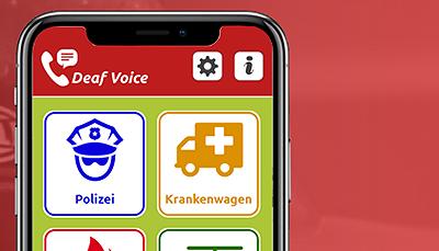 Notruf-App DeafVoice